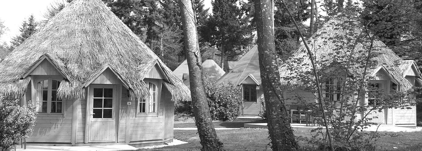Cabane en bois séjour particulier et entreprises