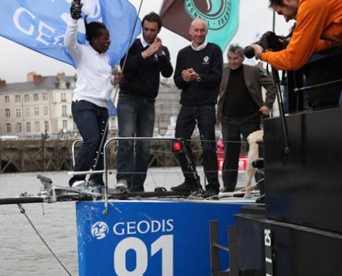 événementiels sur-mesure bateau GEODIS Nantes