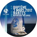2012 événementiels sur-mesure baptême de bateau GEODIS