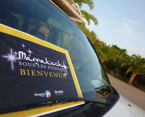 Week end sous les étoiles Bouygues Télécom Norton à Marrrakech Maroc