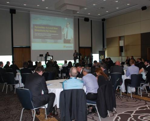événementiels sur-mesure meeting Symantec Tel'connection