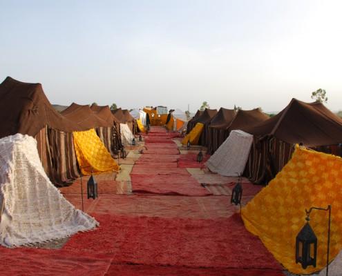 Week end à Marrakech Maroc dormir dans des tentes