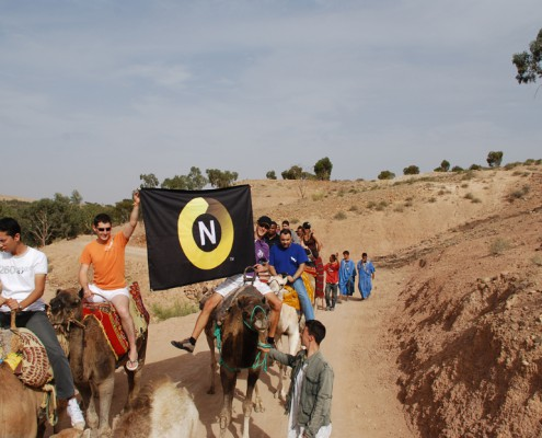 Week end Norton à Marrakech Maroc