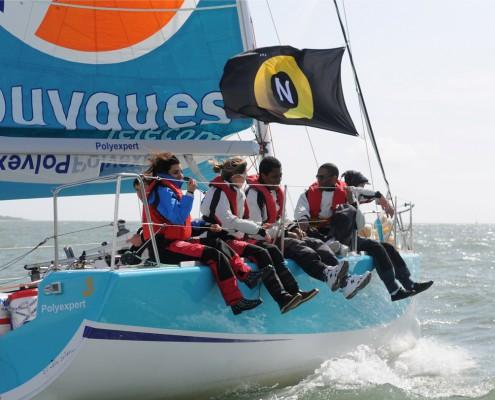Equipage bateau Bouygues Télécom Norton